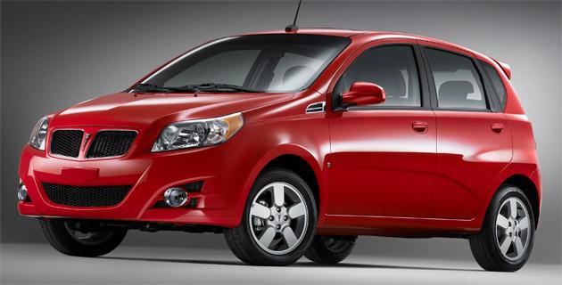 Pontiac Confirms G3 Compact For U S Market