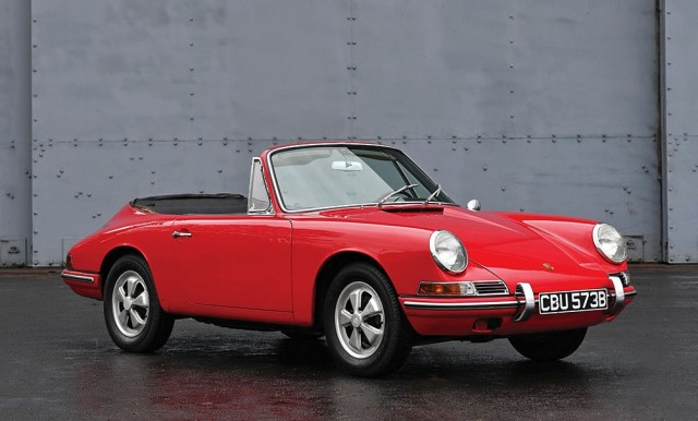 1964 Porsche 901 Cabriolet Prototype by Karmann heading to auction