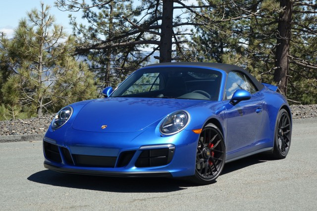 2017 Porsche 911 Carrera Gts Cabriolet First Drive Review The One