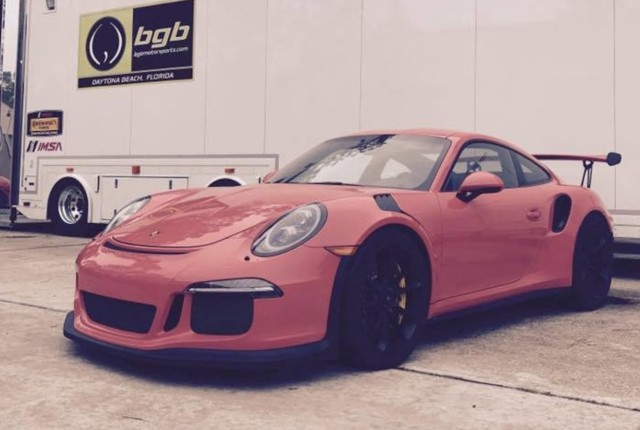 Porsche 911 GT3 RS undergoes manual transmission swap, Photo: BGB Motorsports
