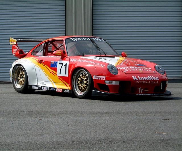 1996 Porsche 911 GT2 race car