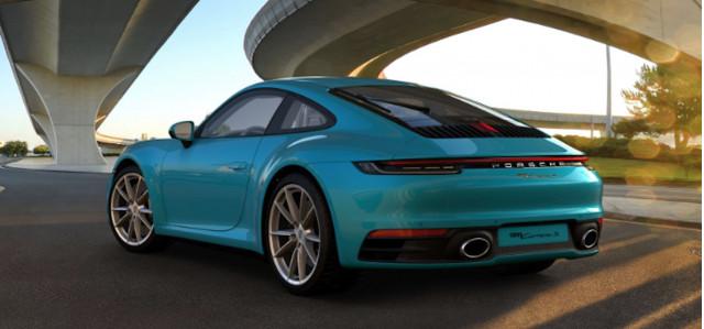 2020 Porsche 911 online configurator