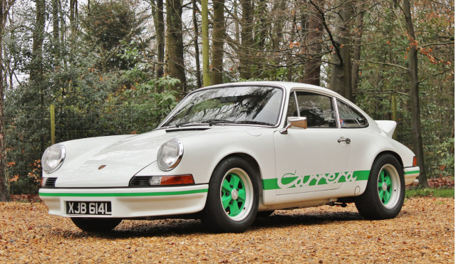 1973 Porsche 911 Carrera RS 2.7 heads to auction