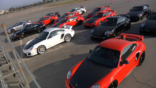 Porsche 911 GT2 RS delivery