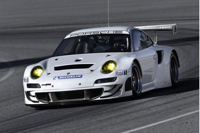 Porsche 911 RSR. Image: Porsche AG