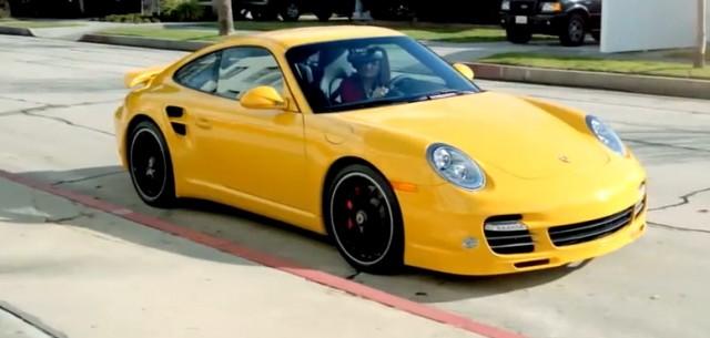 Porsche 911 school bus