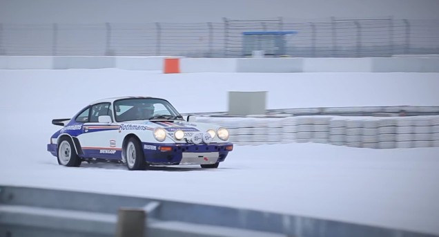 A Porsche 911 SC RS Tackles A Snow-Covered Nürburgring: Video