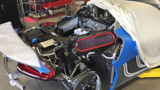 Porsche 918 Spyder maintenance - Image via Reddit user USBROOKS