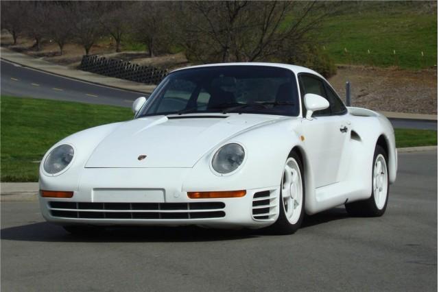 Porsche 959 prototype - image: Barrett-Jackson