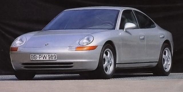 Porsche 989 concept car from 1988
