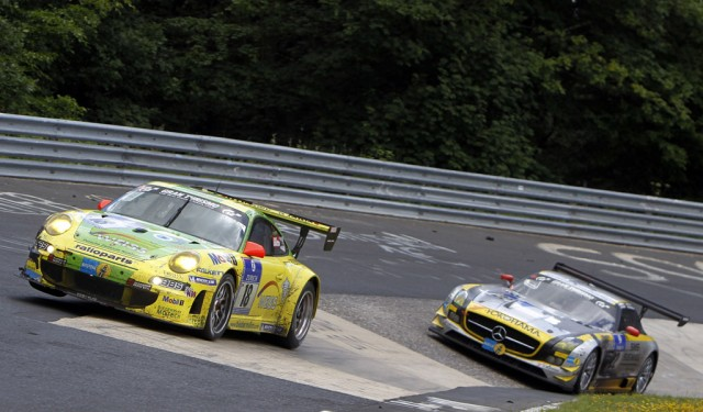 Porsche at the 2011 Nurburgring 24 Hours