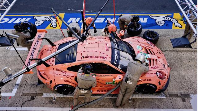 Porsche at the 2018 24 Hours of Le Mans