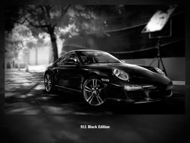 Porsche Black Edition photo contest winners