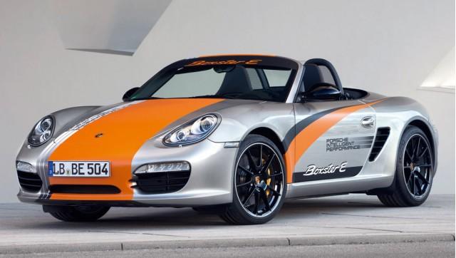Porsche Boxster E electric prototype