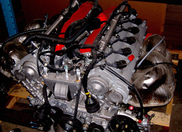 Porsche Carrera GT V-10 engine for sale