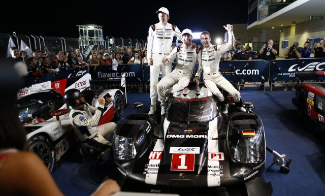 Porsche drivers Brendon Hartley, Mark Webber & Timo Bernhard win 2016 6 Hours of Shanghai