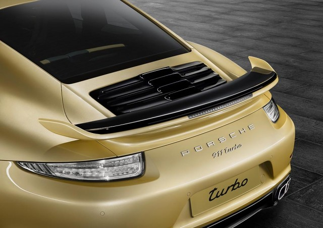 Porsche Exclusive Aerokit for 991 Porsche 911 Turbo and Turbo S