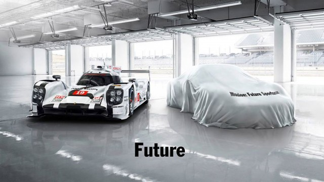 Porsche future sports car Facebook post