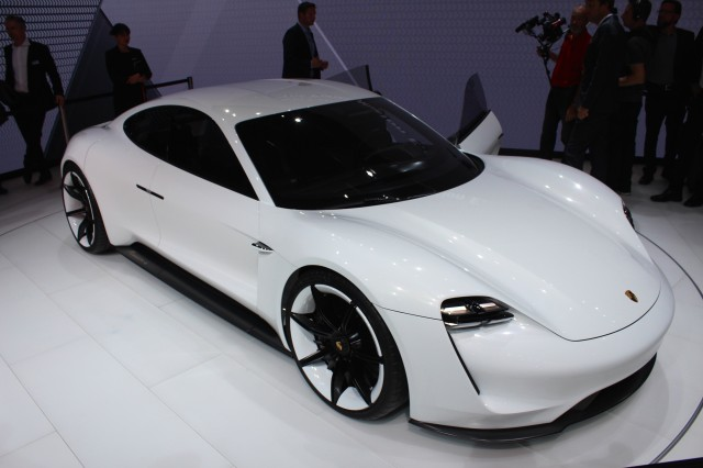 porsche will build network of 500 fast chargers for its mission e