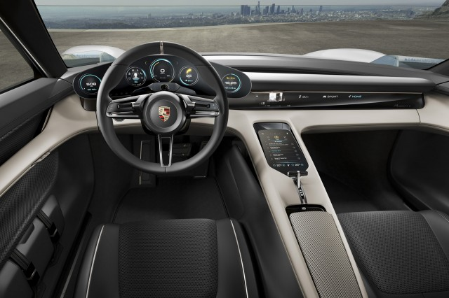 The Electric Porsche Mission E Should Have As Much As 670 Horsepower
