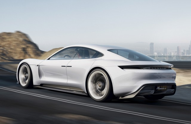 2018 Porsche Mission E 600 Hp Electric Sport Sedan Concept Targets