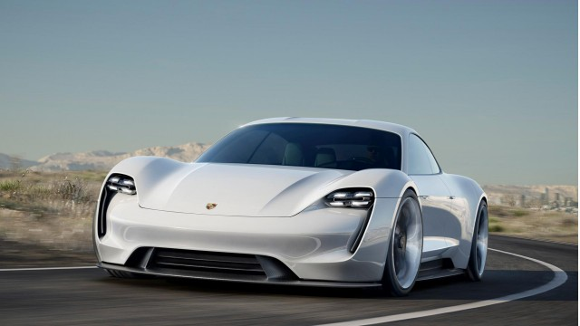 69c5dd5ea5 Porsche Mission E concept electric car