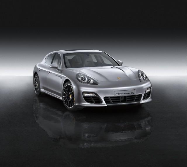 Porsche Panamera Sport Design Package, Powerkit, and Sport wheel upgrades