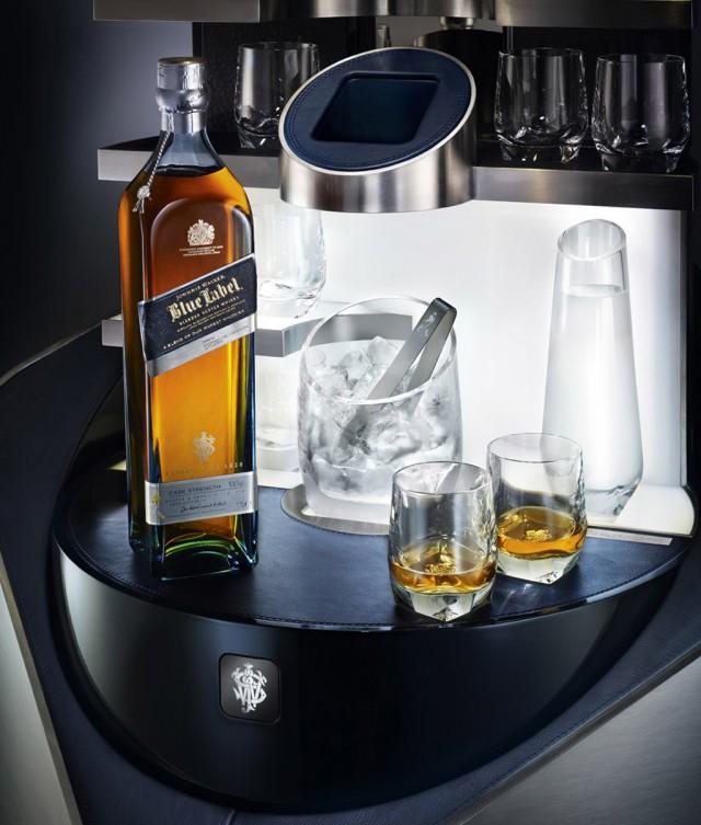 Porsche Design Johnnie Walker Blue Label private bar