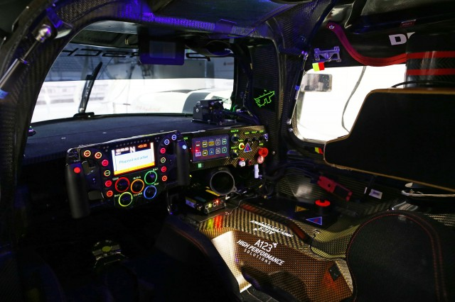 Porsche 919 Hybrid race car steering wheel