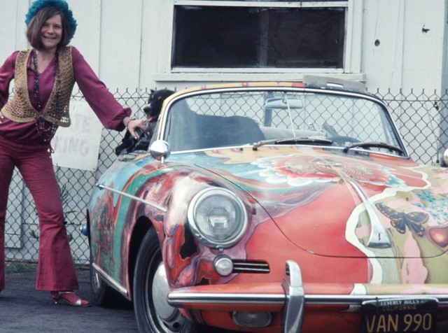 1964 Porsche 356 C Cabriolet once owned by Janis Joplin