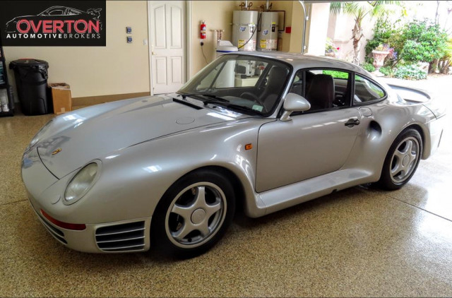 Porsche 959 For Sale >> Totally Turbo 1987 Porsche 959 Up For Sale At 1 3m