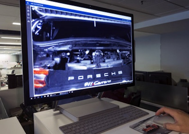 Porsche augmented reality glasses for technicians