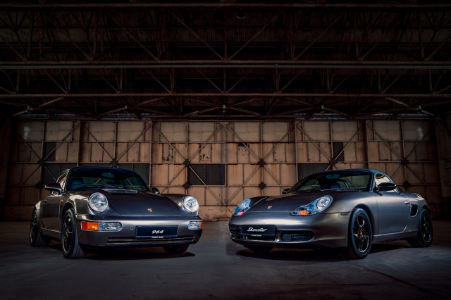 Porsche 70th anniversary restoration models for NEC Motor Show