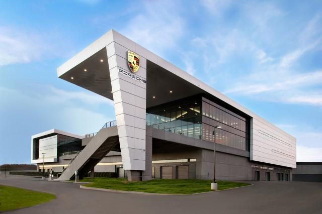 Porsche's U.S. headquarters and Experience Center in Atlanta, Georgia