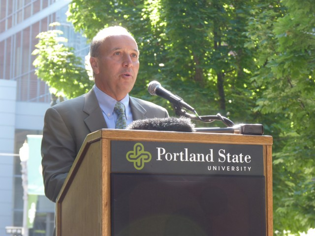 Portland General Electric (PGE) CEO Jim Piro