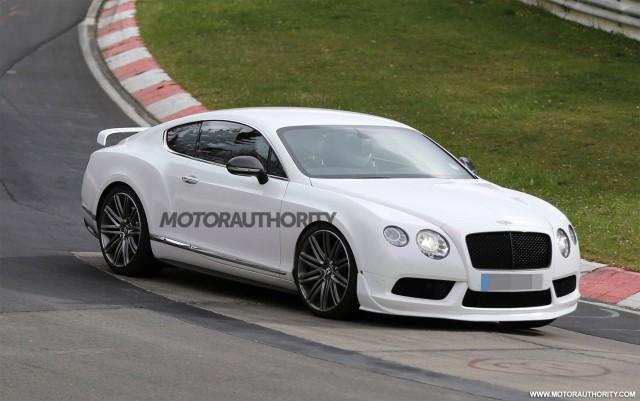 Potential Bentley Continental GT3 road car spy shots