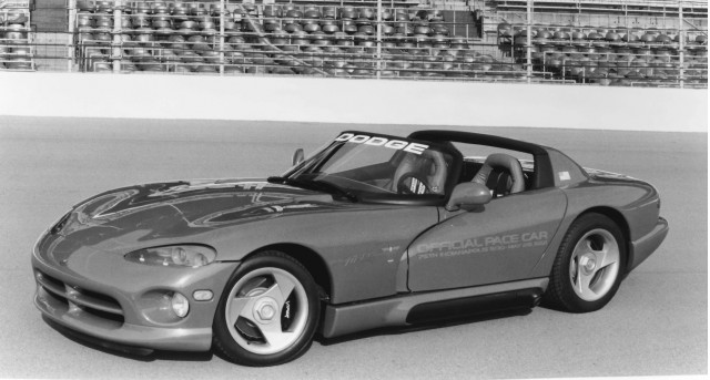 Pre-production Dodge Viper pace car at the 1991 Indianapolis 500