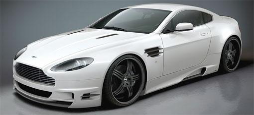 Premier4509 Aston Martin V8 Vantage aero kit