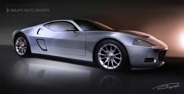 Preview of GAS GTR-1 supercar inspired by the Ford GT