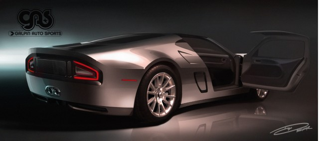 Preview of GAS GTR-1 supercar based on the Ford GT