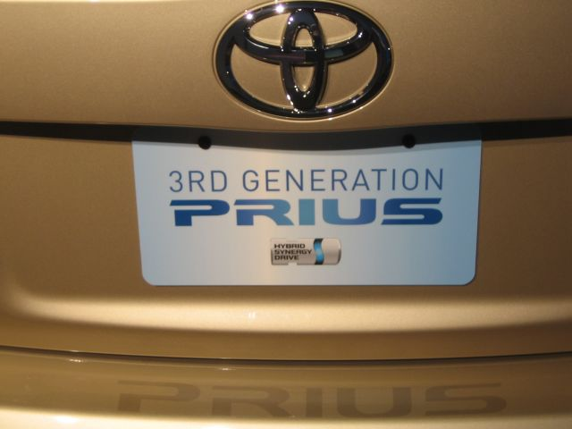 This says it all: Welcome to the third-generation, 2010 Toyota Prius!