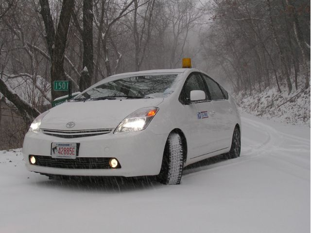 Road Test Toyota Prius In The Snow