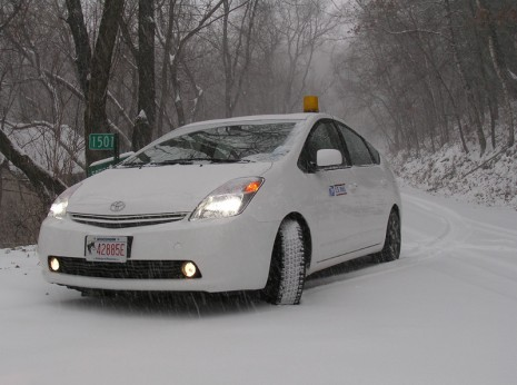 Prius_snow