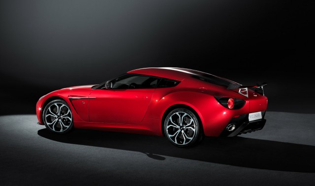 Production Aston Martin V12 Zagato