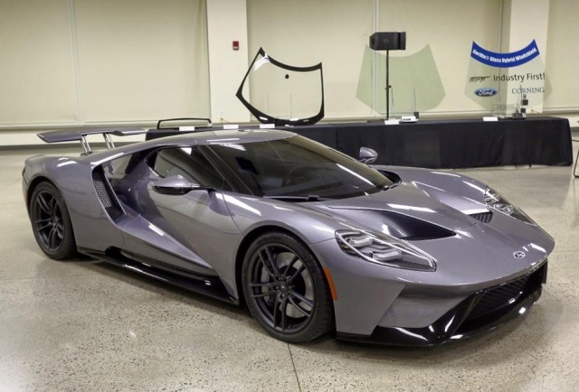 Production-intent Ford GT [from Ford GT Forums post on Facebook]