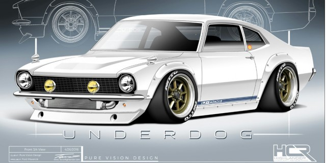Project Underdog 1972 Ford Maverick
