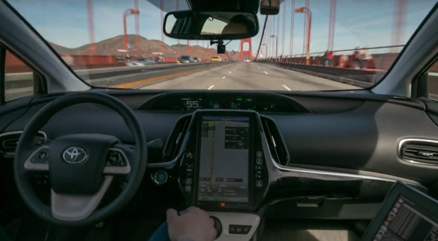 Pronto.AI self-driving car system
