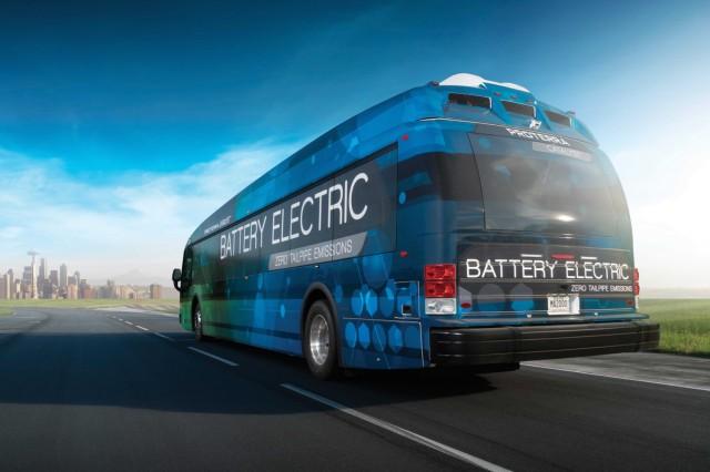 Proterra Catalyst electric bus