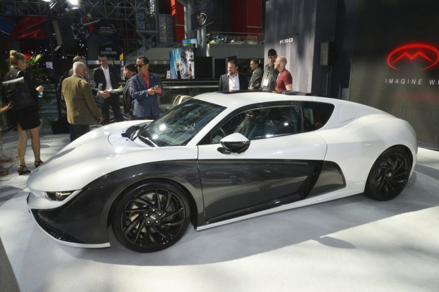 Qiantu K50 By Mullen 2019 New York Auto Show