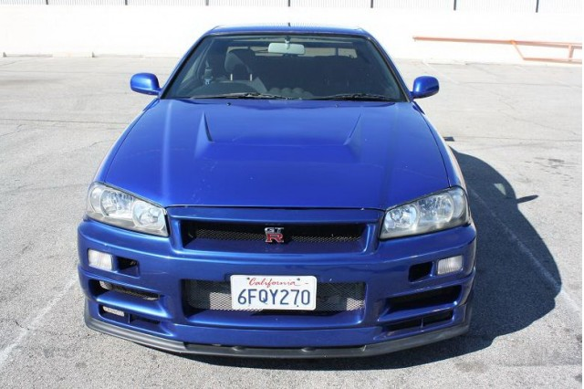 R34 Nissan Skyline GT-R replica used in Fast and Furious 4